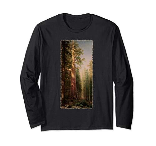 Riesenmammutbaum Redwood Bäume durch Albert Bierstadt Langarmshirt