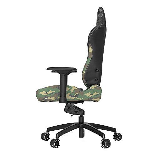 Product Image 5: Vertagear P-Line 6000 Racing Series Gaming Chair, X-Large, Black/Camouflage
