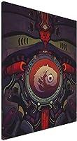 新世紀エヴァンゲリオン アートパネル インテリア アートポスター 壁掛け絵画 インテリア 絵画 アートフレーム モダン キャンバス絵画 装飾画 部屋飾り 現代 木枠セット