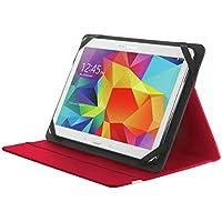 """Trust Primo - Funda para Tablet de 10"""" (función Soporte), Rojo"""