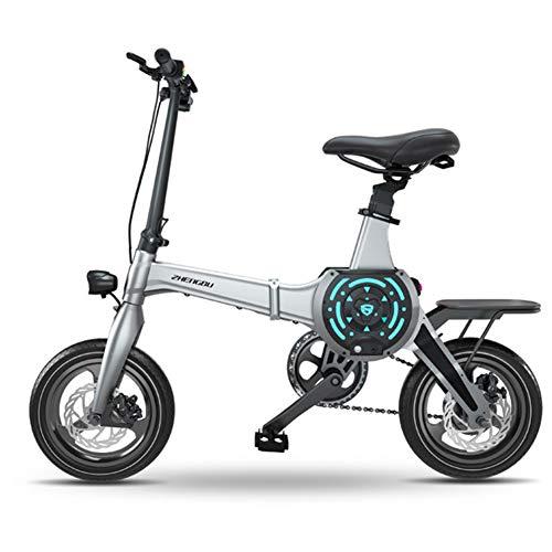 Hxl elektrische mountainbike voor volwassenen met 36 V lithium-ion accu, 400 W, krachtige motor, eenvoudig in de auto op te bergen.