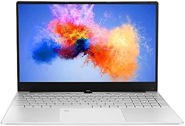 Laptop 15 6 Zoll Notebook Intel Core i3 1080P IPS Anzeige Windows 10 Schmaler Rand Ultrabook mit Fingerabdruck entsperren 8G RAM 1T SSD Schätzpreis : 429,99 €