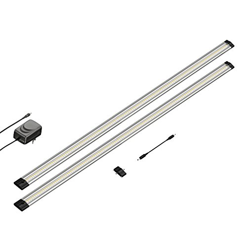parlat LED Unterbau-Leuchte SIRIS, flach, je 90cm, 850lm, warm-weiß 2er Set