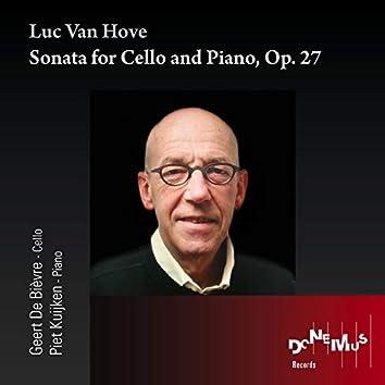 Sonata for Cello and Piano, Op. 27