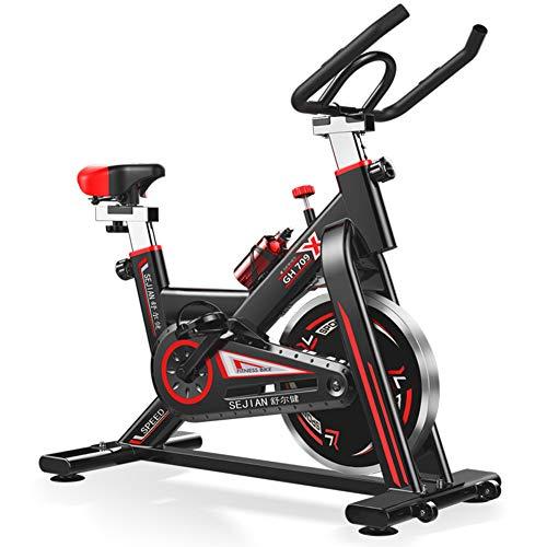 MXXDB Bicicleta de Entrenamiento Ciclismo de Interior Bicicleta estática para el hogar/Gimnasio, Resistencia Ajustable Bicicleta ergonómica con Pedal, Equipo de Entrenamiento, Pérdida de Peso