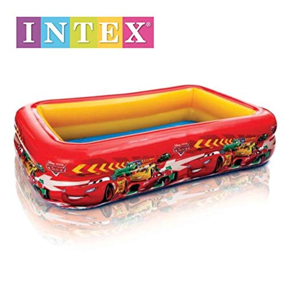 直径広告雪のINTEX(インテックス) プール Disney スイムセンタープール カーズ 262×175×56cm 57478