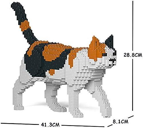 entrega rápida JECKA Animal Animal Animal Building Blocks for Kidults Cat 11S-M01  la calidad primero los consumidores primero