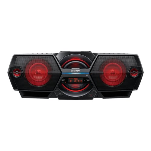 Sony ZS-BTG905/C Boombox All-In-One Mega Bass Reflex Stereo Sound System with Bluetooth, NFC and Remote Control