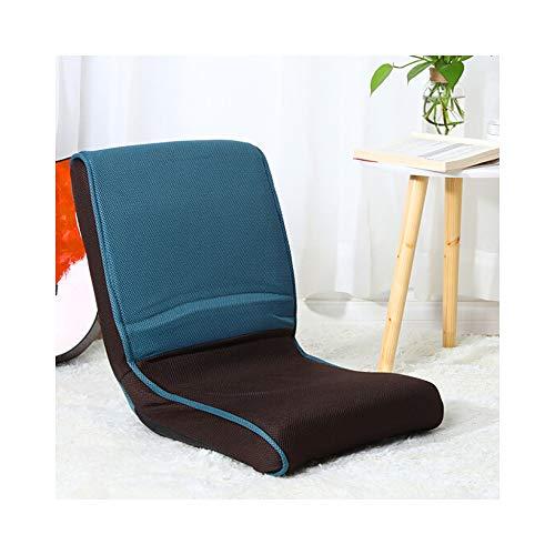 length Tatami Folding Chair Japanese Lazy Sofa Bedroom Bay Window Simple Leisure Chair Thick Cushion 41×38×47cm