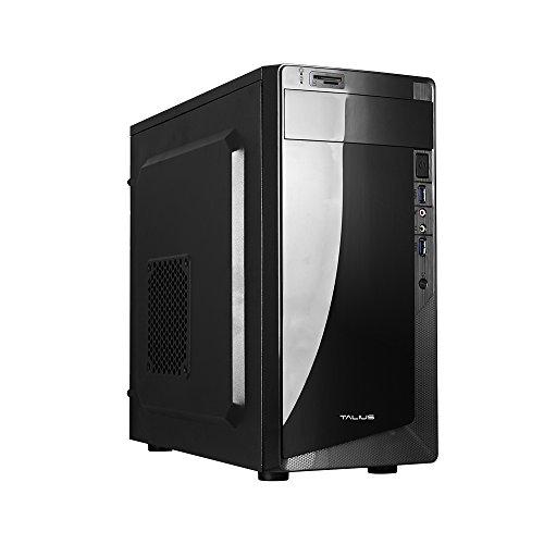 Talius Denver - Caja mATX - Lector SD - 2 X USB3.0 - Fuente de alimentacion 500W - Color Negro