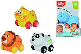 Simba- Cochecito para bebés Animales y Cuatro Ruedas. A Elegir Entre 4 Recibirás Forma, realiza una selección aleatoria en el almacén. No es Posible Hacer preselección de Modelo (4012074)