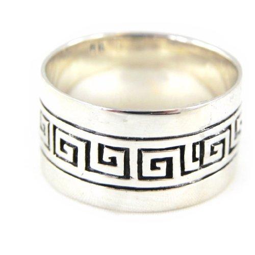 Les Trésors De Lily [B9511] - Anello per argento per per gli uomini 'Athènes' .