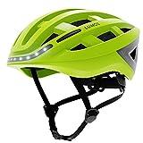 LUMOS Kickstart con MIPS Smart Casco (Electric Lime) | Accesorios para bicicleta | Adulto: Hombres, Mujeres | Luces LED delanteras y traseras | Señales de giro | Luces de freno | Bluetooth conectadas