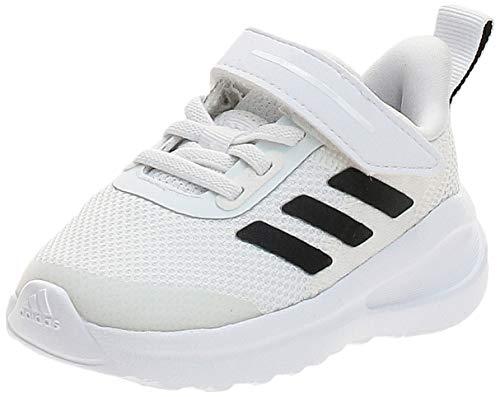 adidas Unisex Baby Fortarun EL I Cross Trainingsschuhe, Ftwbla/Negbás/Negbás, 19 EU