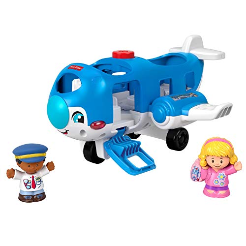 Best Review Of Fisher-Price Little People Travel Together Airplane Vehicle