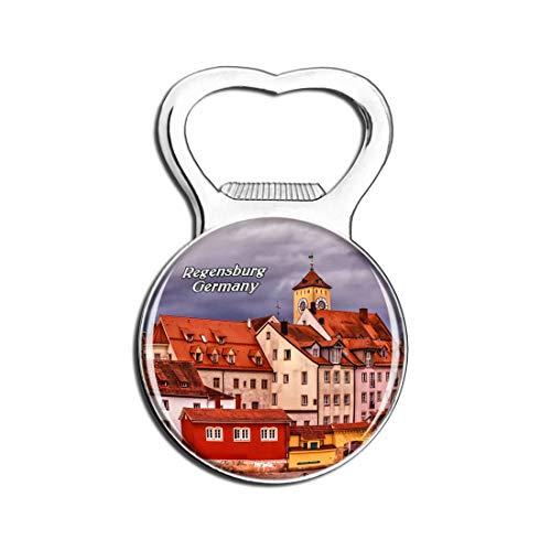 Weekino Regensburger Haus Deutschland Bier Flaschenöffner Kühlschrank Magnet Metall Souvenir Reise Gift
