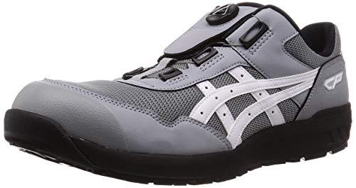 [アシックス] ワーキング 安全靴/作業靴 ウィンジョブ CP209 BOA JSAA A種先芯 耐滑ソール fuzeGEL搭載 シートロック/ホワイト 27.5 cm
