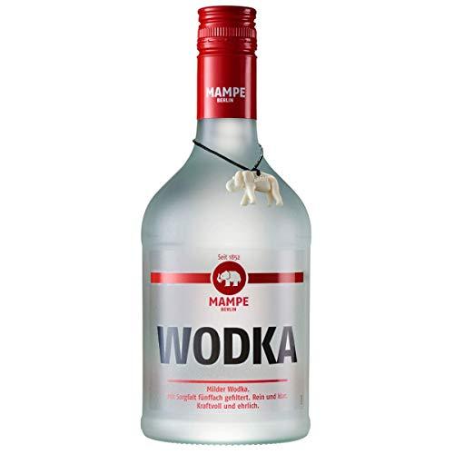 Mampe Wodka | Milder Weizenwodka - fünffach gefiltert | Berlins älteste Spirituosenmanufaktur – Tradition seit mehr als 160 Jahren | 1 x 0.7 Liter | 40% Vol.