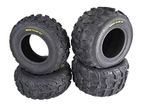 Kenda Bear Claw EX 22x8-10 Front & 22x11-10 Rear ATV 6 PLY Tires Bearclaw - 4 Pack Set