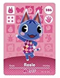 No.386 Rosie Animal Crossing Villager Cards Series 4. Third Party NFC Card. Water Resistant