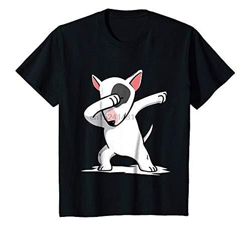 Funny Dabbing English Bull Terrier Dog T Shirt Dab Shirt Tshirt Homme 2018 New Sleeve Harajuku Tops Band Shirts