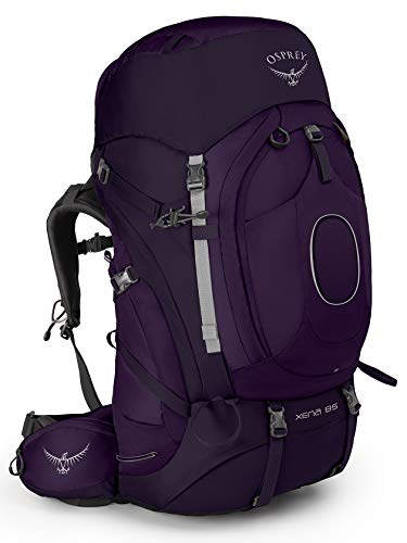 Osprey Xena 85 Women's Backpacking Backpack, Crown Purple, Small