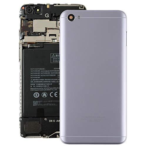 Repuesto Xiaomi Cubierta Posterior con Lente de cámara y Teclas Laterales for Xiaomi Redmi Note 5A Repuesto Xiaomi (Color : Grey)