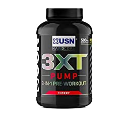 Maximise Your Workout: Take your next weights session to the next level with our gym pre workout supplement. Contains a variety of exercise-boosting ingredients: Including Citrulline Malate and beta-alanine Pump It Up: USN's 3XT Pump pre workout is f...