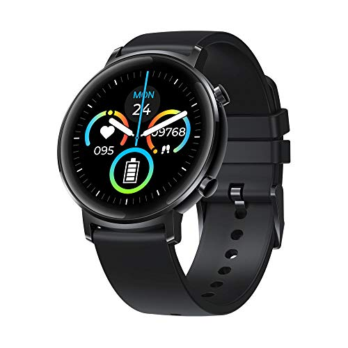 Zeblaze Neue GTR Health & Fitness Smartwatch Metallgehäuse 3 Geldautomat 30 Tage Akkulaufzeit Smartwatch 2020 Uhr für Frauen-Schwarz