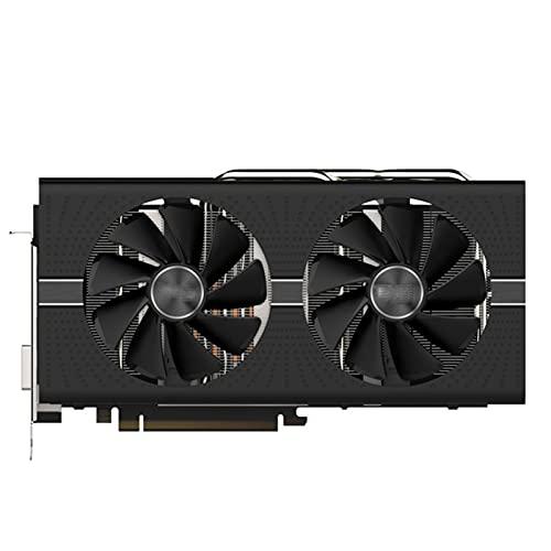 FIT FOR Sapphire Radeon RX 580 Tarjeta gráfica de 8GB GPU AMD RX580 Tarjeta gráfica de Video de 8GB Nitro + Mapa de Juegos de computadora HDM
