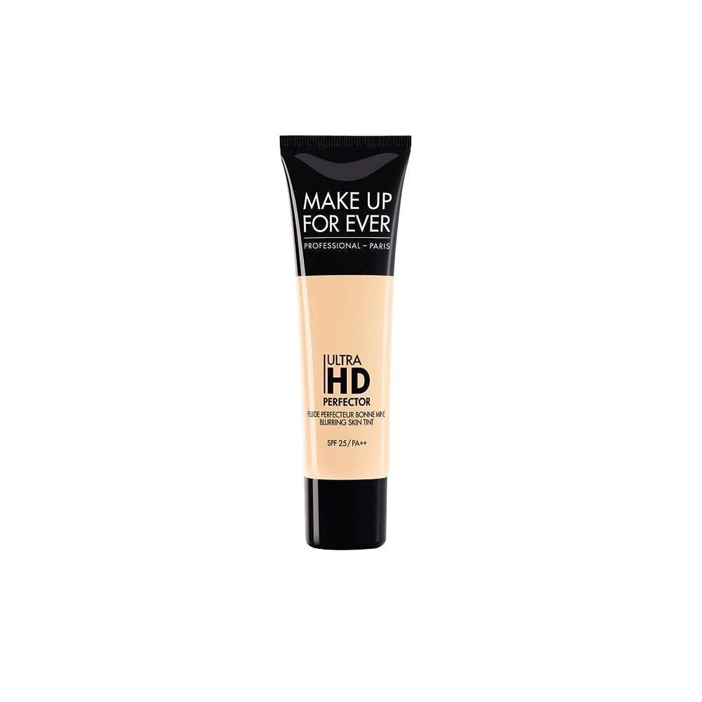 甘くするルネッサンス逃すメイクアップフォーエバー Ultra HD Perfector Blurring Skin Tint SPF25 - # 01 Vanilla 30ml/1.01oz並行輸入品