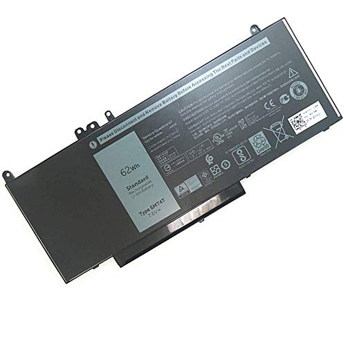 Szhyon Fit for 6MT4T Laptop Battery fit for Dell Latitude E5470 E5570 Notebook 15.6' M3510 TXF9M 79VRK 07V69Y 7V69Y 7.6V 62WH