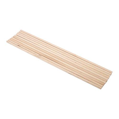 Zerodis 10 stücke 30 cm Lange DIY Holz Handwerk Stöcke Kleine Holzbau Stöcke(6MM*30CM)