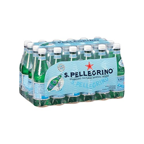 S. Pellegrino Natural Sparkling Agua Mineral 50cl PET (paque