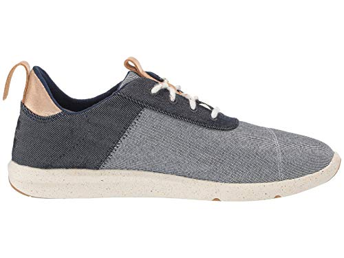 Toms Women's Cabrillo Navy Denim Sneaker Shoes