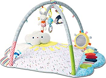 Gund Baby Tinkle Crinkle & Friends 8-Piece Arch Activity Gym Playmat