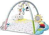 GUND Baby Tinkle Crinkle & Friends Arch Activity Gym Playmat Sensory Stimulating Plush 8-Piece Set