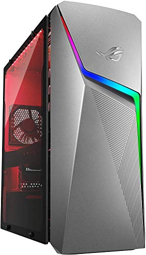 Newest Asus ROG Strix Premium Business Desktop | AMD Ryzen 5 3400G | 16GB RAM | 512GBSSD +1TBHDD | NVIDIA GeForce GTX 1650 | Iron Gray | Windows 10 | with Woov Accessory Bundle
