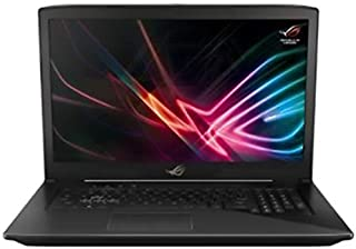 Asus ROG Strix GL703GM-E5055T Gaming Laptop -Intel Core i7-8750H, 17.3-Inch FHD, 1TB + 256GB SSD, 16GB, 6GB VGA-GTX1060, Eng-Arb-KB, Windows 10, Scar Gun Metal
