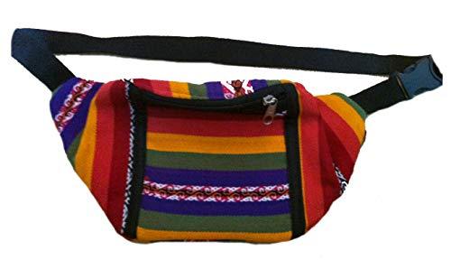 Terrapin Trading Fair Trade Peruvian Funky Hippy Bumbag/Mappe/Geldbeutel/Hüfttasche (mehrfarbig 493)