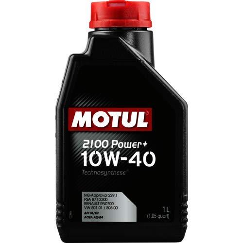 MOTUL 2100 POW+10W40 L.1, paquete de 2 litros