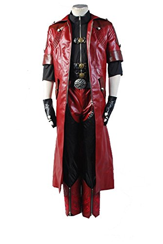 DMC Devil May Cry 4 Dante Cosplay Kostüm Full Set Herren XXL