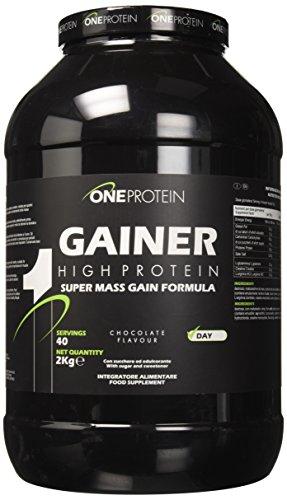 GAINER è un integratore alimentare a base di carboidrati e proteine con glutammina, arginina e creatina, indicato per sportivi che svolgono attività fisiche intense. Le proteine contribuiscono alla crescita e al mantenimento della massa muscolare.