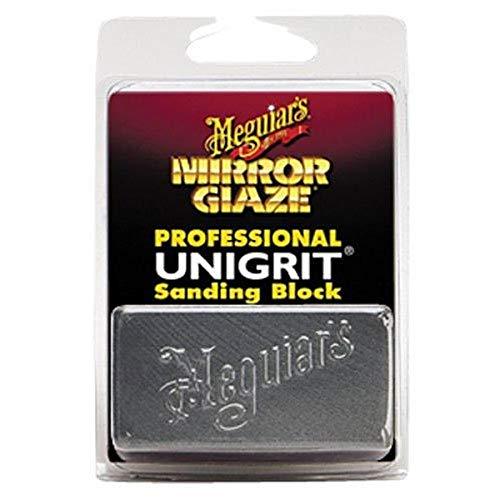Meguiar's K2000 Mirror Glaze 2000 Grit Unigrit Sanding Block, 1 Pack