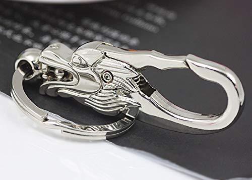 Llavero de coche de grifo de estilo chino, llavero de hogar, mochila colgante, cadena de dibujos animados, colgante de cartera, 8 cm