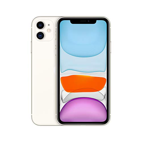 Apple iPhone 11 (64 GB) - Blanco (incluye Earpods, adaptador de corriente)