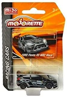 New DIECAST Toys CAR MAJORETTE 1:64 Racing Cars - Ford Fiesta RS WRC (Black) - MIJO Exclusives 4009MJ4