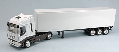 New Ray NY15613DSS IVECO STRALIS 40' Container White 1:43 MODELLINO Die Cast