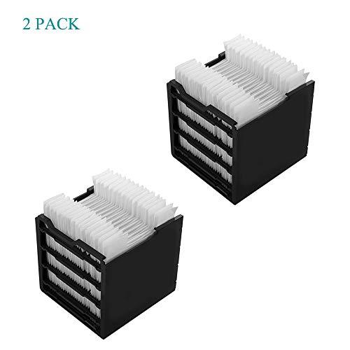 cainda Replacement Filter for Arctic Air Personal Space Cooler, Special Replacement for Arctic USB Air Cooler Filter (2 Pcs)