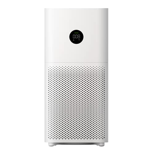 Xiaomi Mi Air Purifier 3C for Home Large Room Bedroom, Monitor Quality with PM2.5 Display,True H13 High Efficiency Filter Eliminate 99.97% Odor Smoke Mold Pollen Dust Pet Dander 409 sq ft Coverage